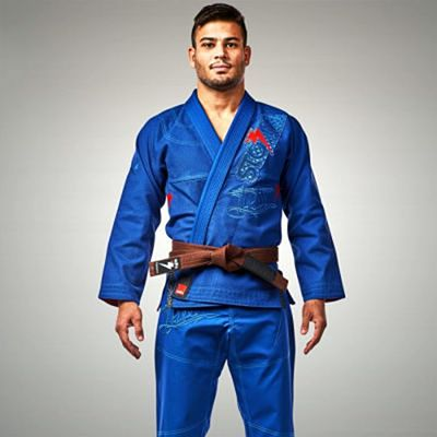 Storm Stealth Typhoon Featherlight BJJ Gi Blue