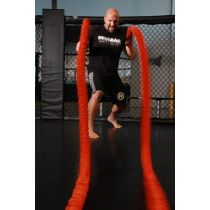 Stroops Son Of The Beast Battle Ropes 22 Kg Naranja