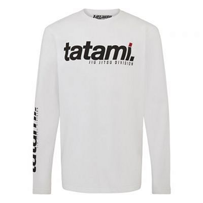 Tatami Base Collection - White Long Sleeve T-Shirt Blanc