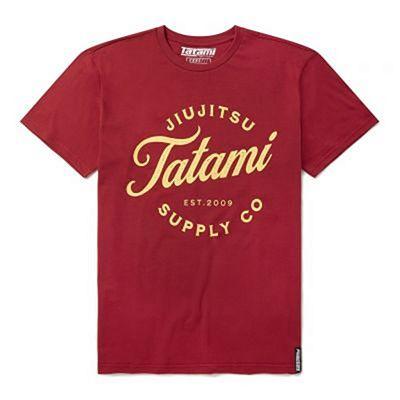 Tatami Classic Logo T-Shirt Red