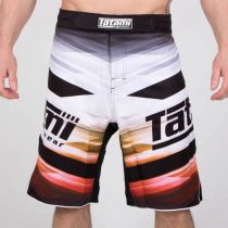 Tatami Collision Standard Fit Shorts Blanco-Negro