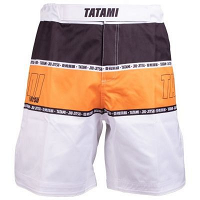 Tatami Contour Collection Shorts Orange