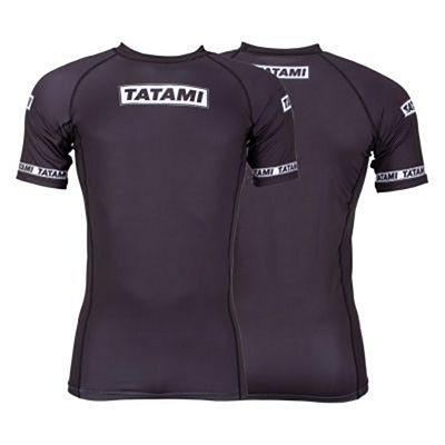 Tatami Dweller SS Rashguard Black