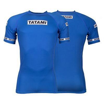 Tatami Dweller SS Rashguard Blue