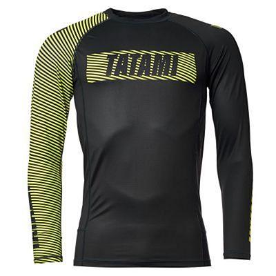 Tatami Essential 3.0 Long Sleeve Rash Guard Black-Yellow