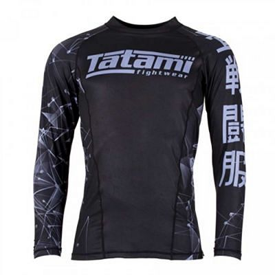 Tatami Essentials Fractal Rash Guard Fekete