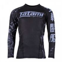 Tatami Essentials Fractal Rash Guard Schwarz