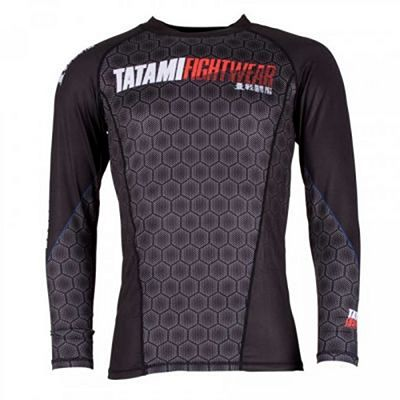 Tatami Essentials Hexagon Rash Guard Fekete
