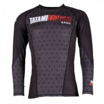 Tatami Essentials Hexagon Rash Guard Schwarz