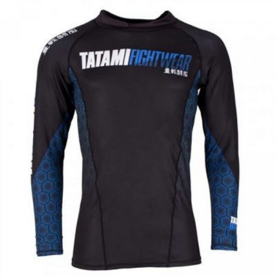 Tatami Essentials Hexagon Rash Guard Kék