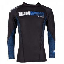 Tatami Essentials Hexagon Rash Guard Blau