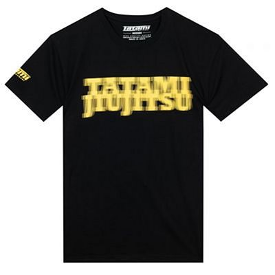 Tatami Focus T-shirt Schwarz-Gelb