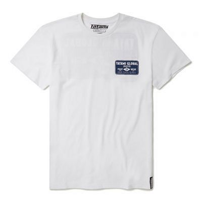 Tatami Global Industry Logo T-Shirt Bianco