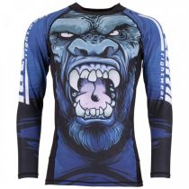 Tatami Gorilla Smash Rash Guard Blau