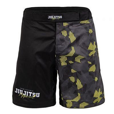 Tatami Hazard Grappling Shorts Negro-Amarillo