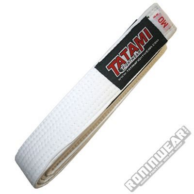 Tatami IBJJF Kids Rank Belt White