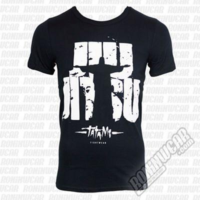 Tatami Jiu Jitsu Rio T-shirt Negro