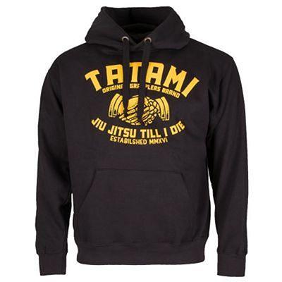 Tatami Jiu Jitsu Till I Die Hoodie Preto-Amarelo