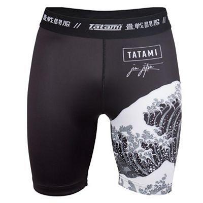 Tatami Kanagawa VT Shorts Fekete