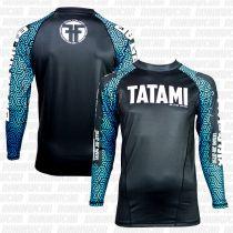 Tatami Kanji Black Friday Rash Guard Negro-Azul