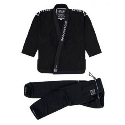Tatami Katakana Jiu Jitsu Gi Black