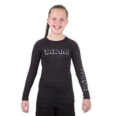 Tatami Kids Shadow LS Rashguard Black