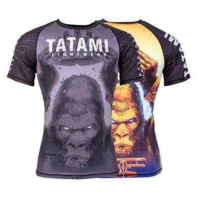 Tatami King Kong Short Sleeve Rash Guard Black