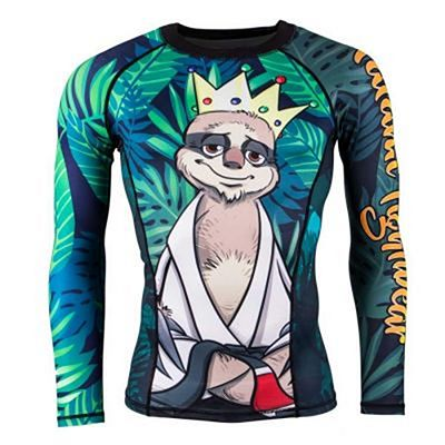 Tatami King Sloth Rash Guard Preto