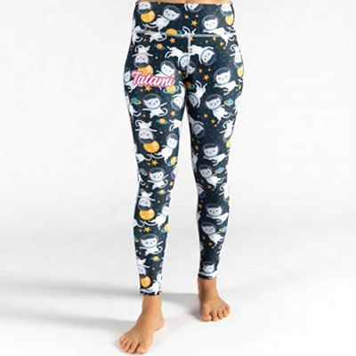 Tatami Ladies Astro Cat Leggings Negro