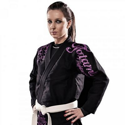 Tatami Ladies Black Phoenix BJJ Gi Black-Purple