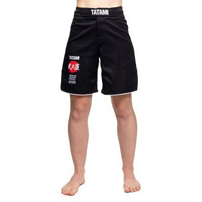 Tatami Ladies Bushido Black Grappling Shorts Musta