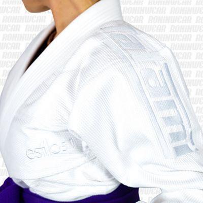 Tatami Ladies Estilo 5.0 Premier BJJ Gi Blanco-Blanco
