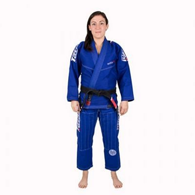Tatami Ladies Estilo 6.0 Azul-Blanco