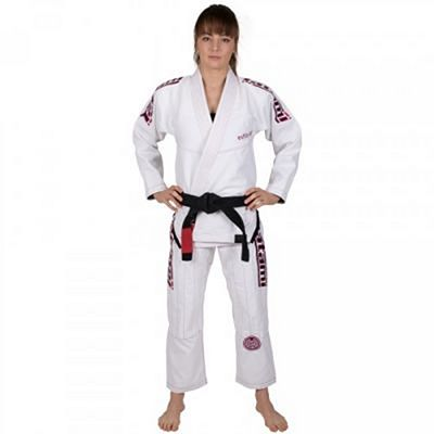 Tatami Ladies Estilo 6.0 Blanco-Rosa