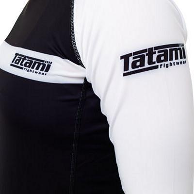 Tatami Ladies IBJJF 2020 Rank LS Rashguard Blanc