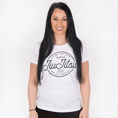 Tatami Ladies Jiu Jitsu Wave T-shirt White