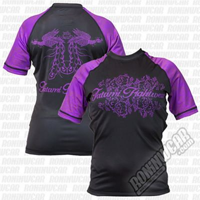 Tatami Ladies Phoenix Rashguard Black-Purple