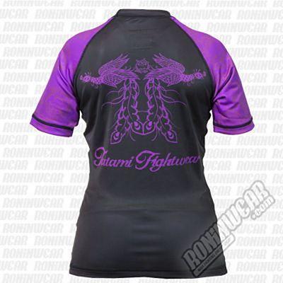 Tatami Ladies Phoenix Rashguard Negro-Morado