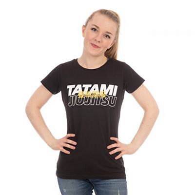 Tatami Ladies Summit T-shirt Negro