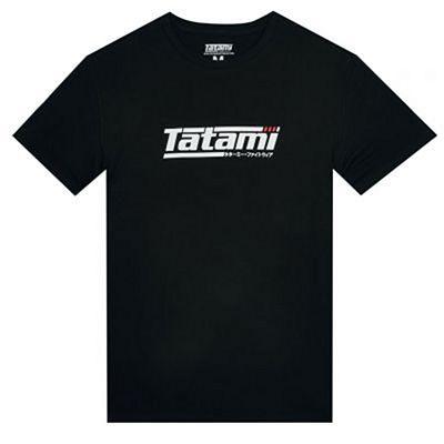 Tatami Logo T-shirt Schwarz