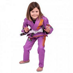 Tatami Meerkatsu Kids Animal Gi Purple