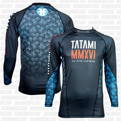 Tatami MMXVI Black Friday Rash Guard Preto-Azul