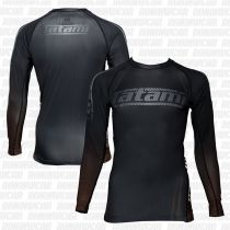 Tatami New IBJJF Rank Long Sleeve Rash Guard Schwarz-Braun