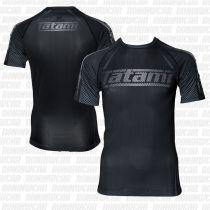 Tatami New IBJJF Rank Short Sleeve Rashguard Negro-Blanco