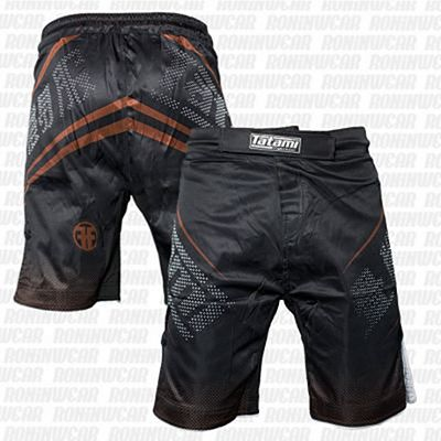 Tatami New IBJJF Rank Shorts Negro-Marron