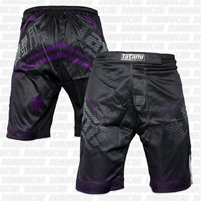 Tatami New IBJJF Rank Shorts Negro-Morado