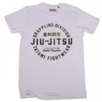 Tatami Official Jiu Jitsu T-shirt Branco-Camo