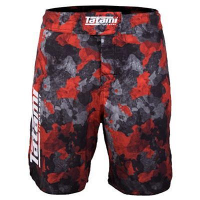 Tatami Renegade Red Camo Shorts Rojo-Gris