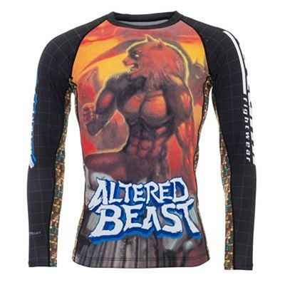 Tatami Sega Altered Beast Rash Guard Musta