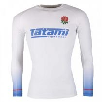 Tatami Six Nations Rash Guard Inglaterra Blanco